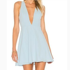 NWT Lovers and Friends pale blue dress. (Small)